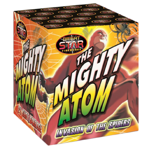 Mighty Atom  Invasion of the Spiders
